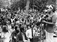 PA NOW member Jo-Ann Gardner speaking at Women's Equality Day Rally  in Rittenhouse Square, Philadelphia, August 26, 1970
