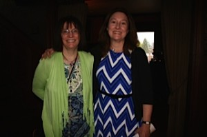 President Emerita Joanne Tosti-Vasey and current President Caryn Hunt