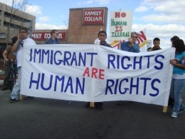 Immigrant rights are human rights