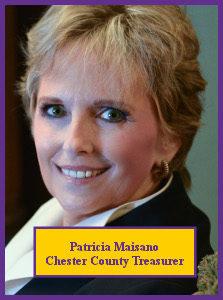 Patricia Maisano, Chester County Treasurer 223x300